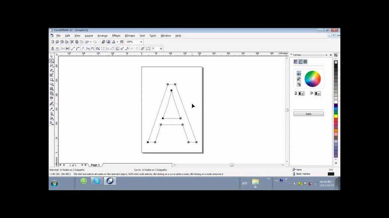 V Letter 3d Wallpaper Coreldraw Software Of L100 Channel Letter Bending Machine