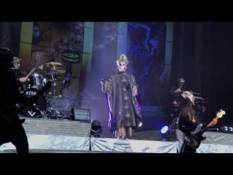 Ghost, Square Hammer, American Airlines Center, Dallas 6-23-2017
