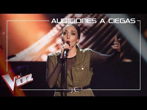 María Portillo canta 'Volver' | Audiciones a ciegas | La Voz Antena 3 2019
