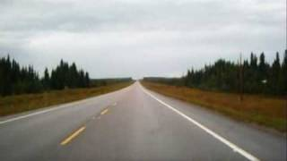 Alaska Hwy solo driving Pt 1 (Mile Zero)