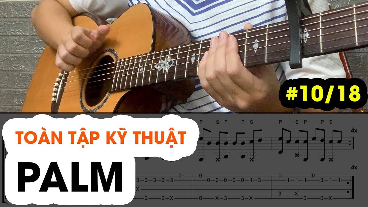 Ngày 10: Hướng dẫn chi tiết Palm (Đập Thùng) trong Solo Guitar – 18 ngày làm quen FINGERSTYLE GUITAR