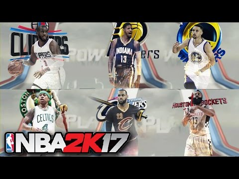 NBA 2K17 - All NBA Teams, Classics, FIBA Teams (Including Jerseys) SHOWCASE