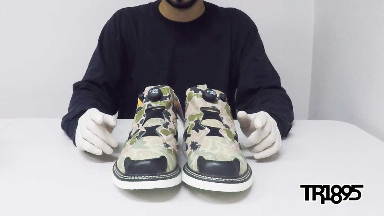 8034943ce03 TR1895 unboxes the Reebok Classic - 58 Bright St Pump Fury Boot (Duck Camo)