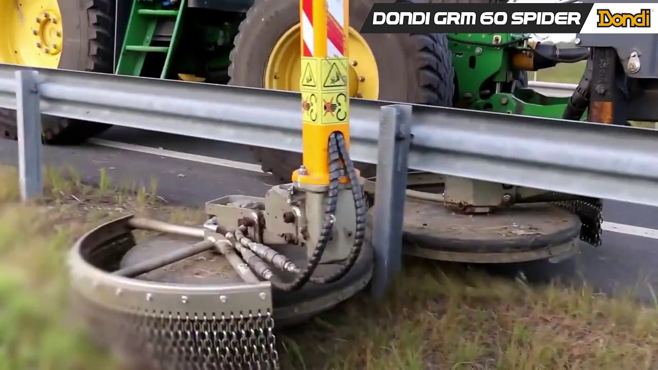 Desbrozador para guardarailes Dondi GRM 60 Spider
