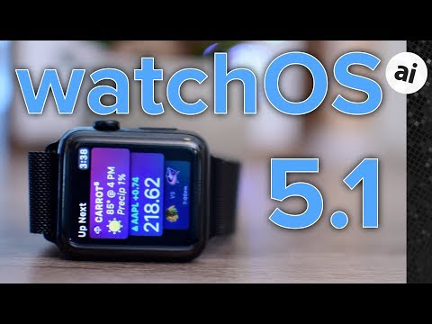 Everything New in watchOS 5.1 Beta 1 for Apple Watch