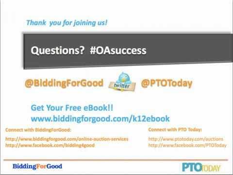 School Fundraising with Online Auctions | BiddingforGood