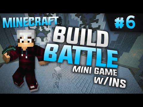 Minecraft Mini-Game: #6 BuildBattle - Φτιάχνω Server!