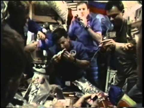 Space Shuttle Flight 73 (STS-74) Post Flight Presentation