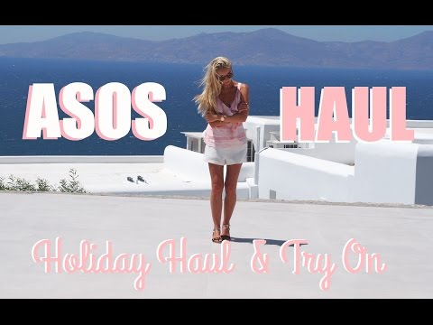ASOS Haul & Try On  |  Summer Holiday Style  |  Fashion Mumblr