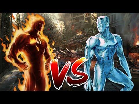 Human Torch VS Iceman | Who Wins?