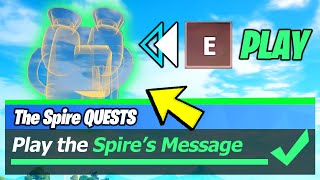 Play the Spire's Message at a Guardian Outpost & Guardian Outposts LOCATIONS - Fortnite