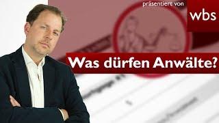 8 Dinge die Anwälte (nicht) dürfen! (Lügen, Mörder verpetzen ...) | Rechtsanwalt Christian Solmecke