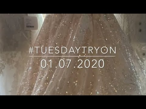 Bridal Try-on W/ Special Guest: 01.07.2020
