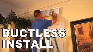Installation of a Ductless Air Conditioning System