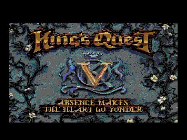 Amiga 500 Longplay [025] King's Quest V: Absence Makes The Heart Go Yonder