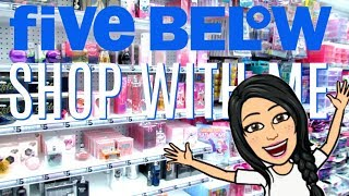 FIVE BELOW SHOPPING!!! $1 to $5 *NEW* MAKEUP, ROOM DECOR, SKINCARE + MORE!!!