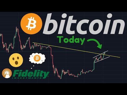 BITCOIN BULLS PUSHING HARD!!! | HUGE Bitcoin News: Fidelity Launching Bitcoin Trading?!?