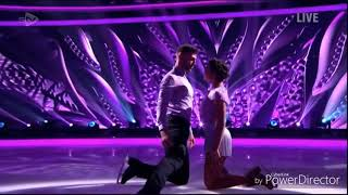 Jake Quickenden and Vanessa Bauer skating in Dancing on Ice: Final (Bolero) (11/3/18)