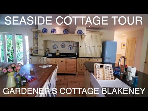 Seaside Holiday Cottage Tour Blakeney Norfolk England