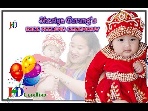 Nepalese tradition of pasni ( baby Shariya's rice-weaning