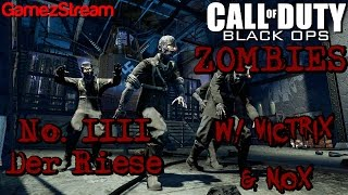 Victrix & Nox Play Black Ops Zombies! - Der Reise - The Best Map Thumbnail