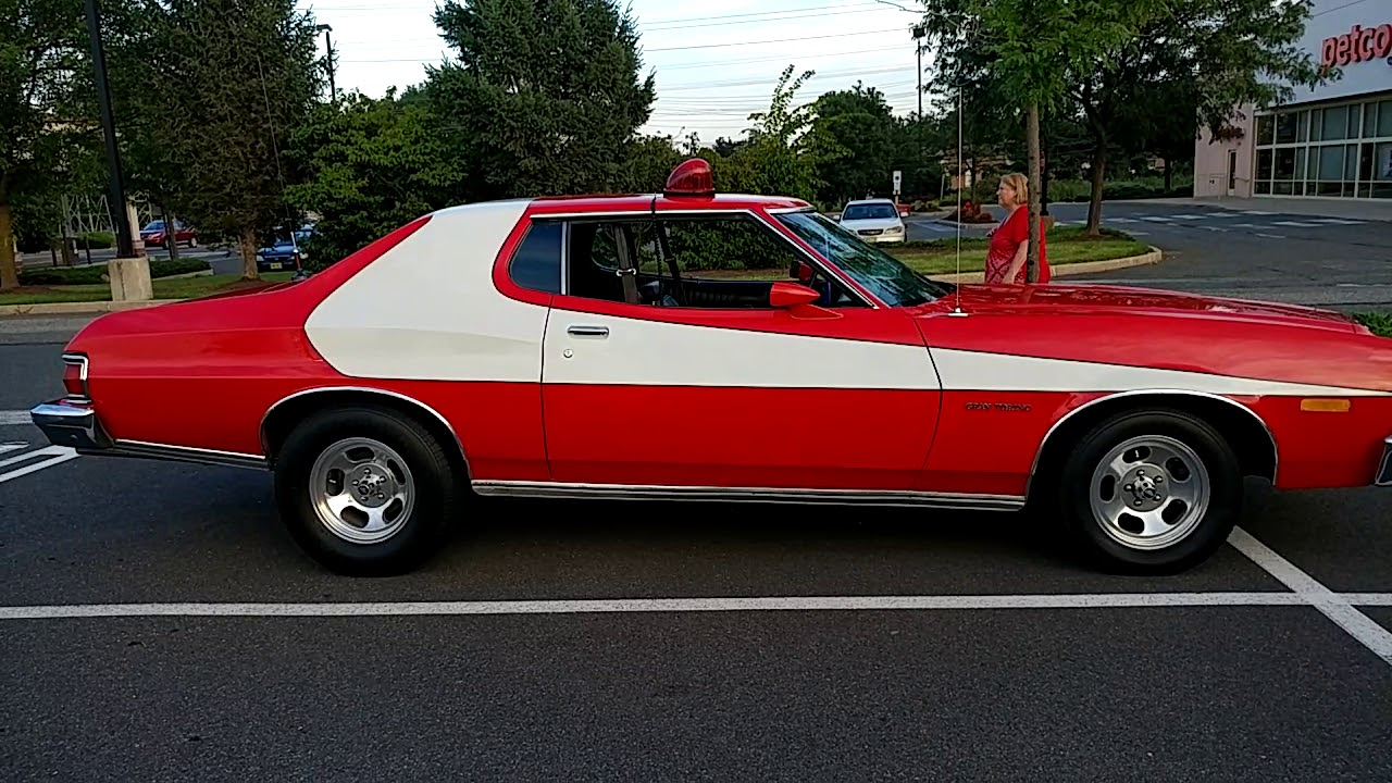New Ford Gran Torino >> 1974 VIPER RED FORD GRAN TORINO FROM STARSKY & HUTCH - YouTube