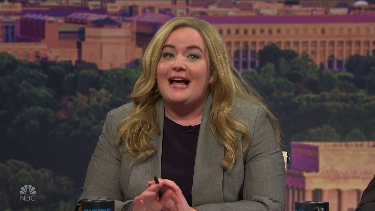 """SNL's Aidy Bryant Breaks Character:  Reaction Close-Ups - """"Well Said, Denise!"""""""