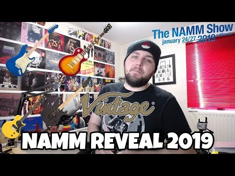 Vintage Guitars Reveal Their *NEW* NAMM 2019 Lineup Mp3