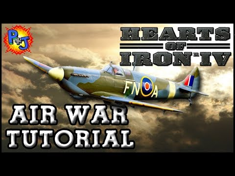Hearts of Iron 4 Air War Tutorial | HOI4 Updated Beginner Guide | How to Manage & Use Your Air Force