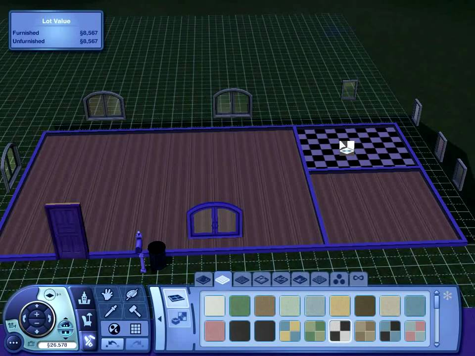 Sims  Build Mode Remove Wall