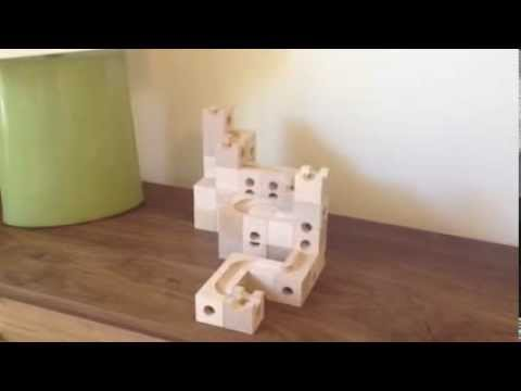 Cuboro - A beautiful marble run building toy