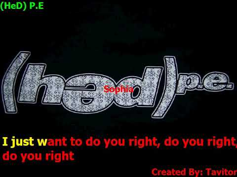 HeD P E   Sophia (Karaokê)