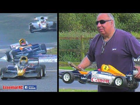 FORMULA 1 Grand Prix F1 RACING -RC Large 1:5 SCALE Gas/Petrol RC F1: southeastrccc.co.uk EPIC BATTLE