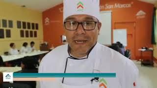 Estudiantes del Centro de Capacitación de San Marcos participan en taller gastronómico a base de cuy