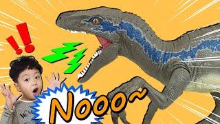 공룡이 나타났다!! 쥬라기월드 초대형 블루 랩터가 왜 나타났을까? Why did the Jurassic World Super Blue Raptor appear?