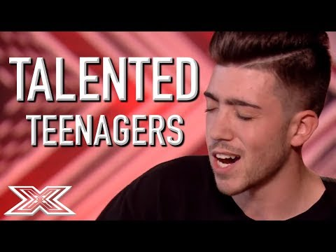 TALENTED TEEN Auditions On The X Factor! | X Factor Global