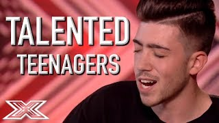 Video TALENTED TEEN Auditions On The X Factor! | X Factor Global download MP3, 3GP, MP4, WEBM, AVI, FLV April 2018
