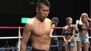 (7.7.2012 ディファ有明 第24試合) WARU下克上 -70kgワル日本一決定ト...