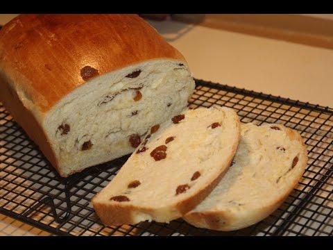 Raisin or Sultana Bread (Very Soft)