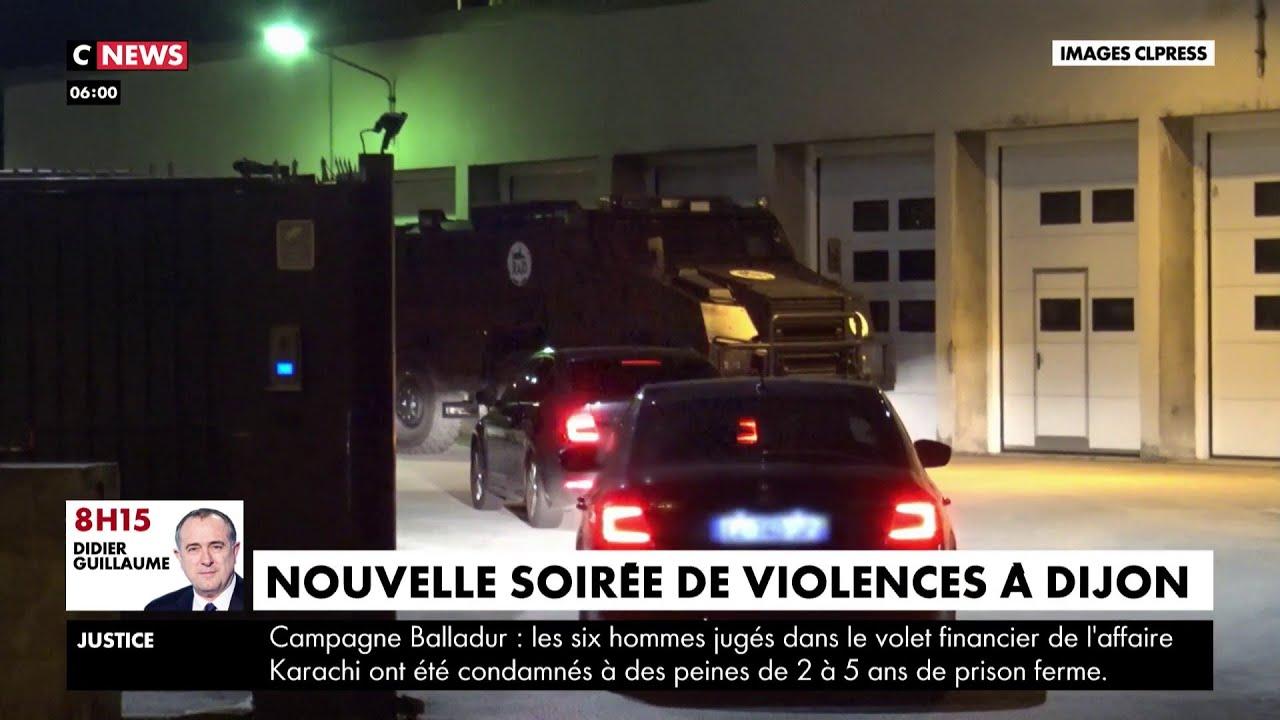 Dijon : nouvelle soirée de violences