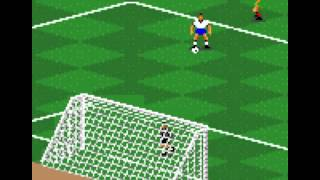FIFA International Soccer - Retrogaming Fifa World Cup 2014 : USA Portugal (Fifa International Soccer Game Gear) - User video