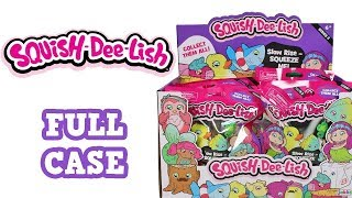 Squish-Dee-Lish Series 3 Squishies Blind Bag Full Case Unboxing Slow Rise Squishies