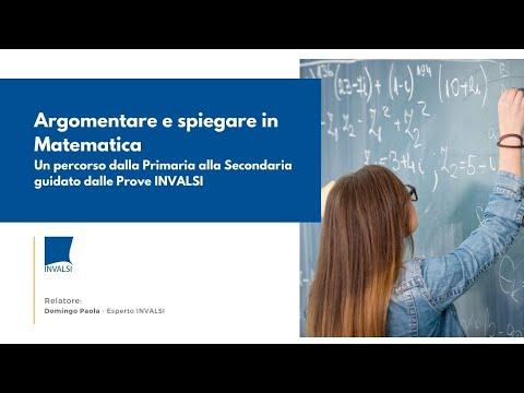Argomentare E Spiegare In Matematica