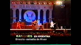 Ramones - The Crusher (Live Argentina 1996)