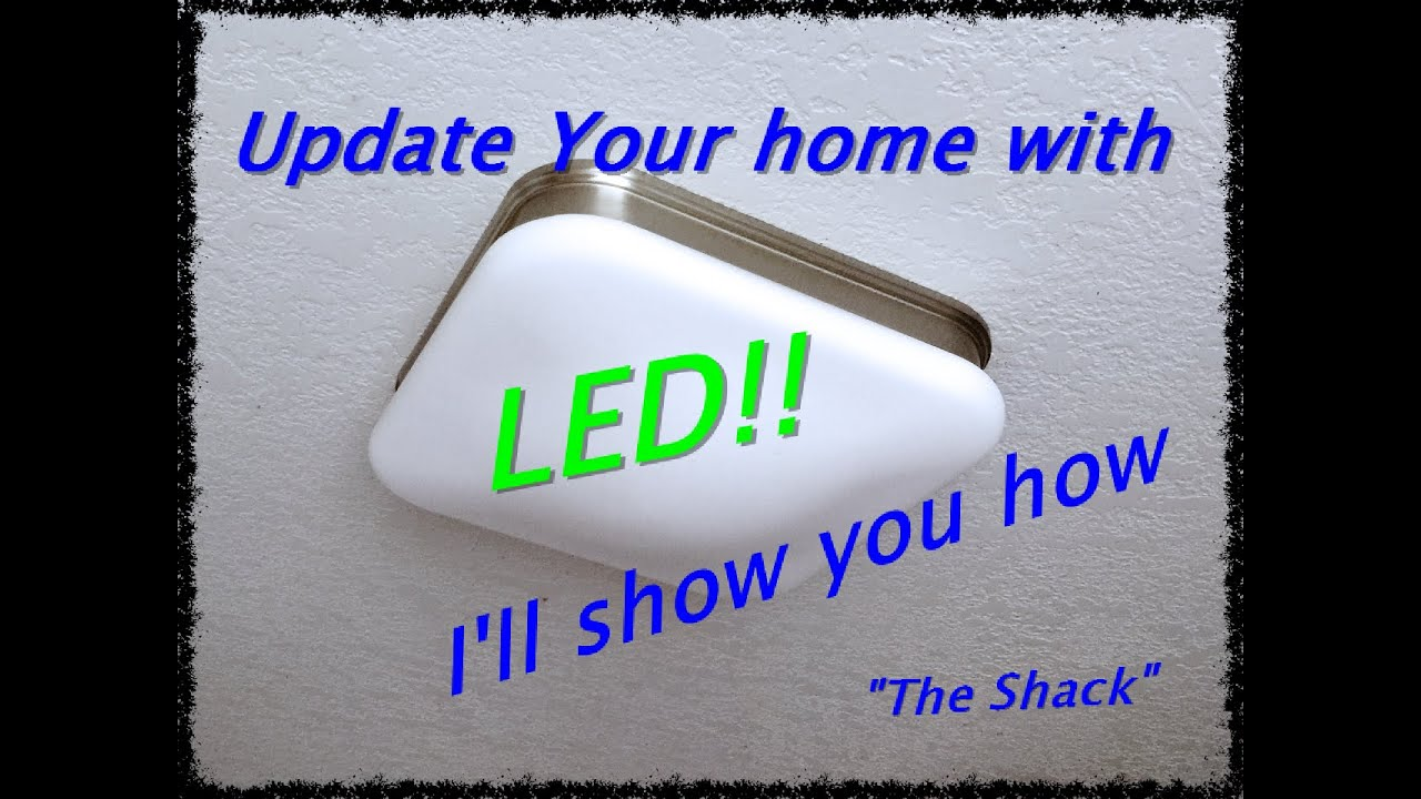 medium resolution of how to install a ceiling light fixture hampton bay led imd3011lm bn