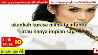 Krisdayanti - Penantian (LIRIK)   OFFICIAL LYRIC VIDEO @LIRIKMUSIK10