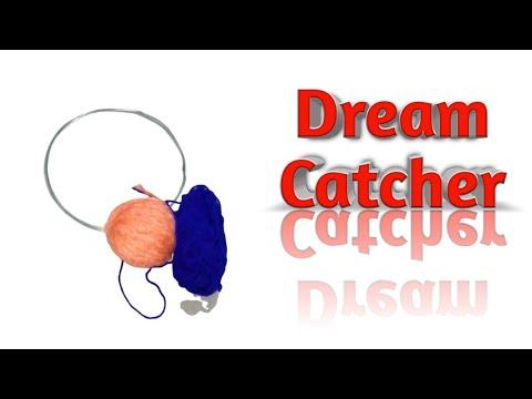 Wall Hanging Dream Catcher Diy video
