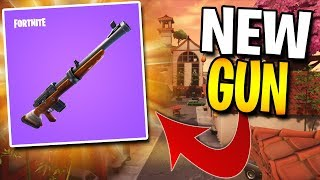 NEW FORTNITE HUNTING RIFLE + LUCKY LANDING UPDATE GAMEPLAY! - Fortnite: Battle Royale | TBNRKENWORTH