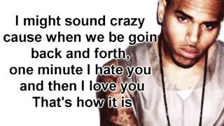 Love More by Chris Brown ft  Nicki Minaj Lyrics