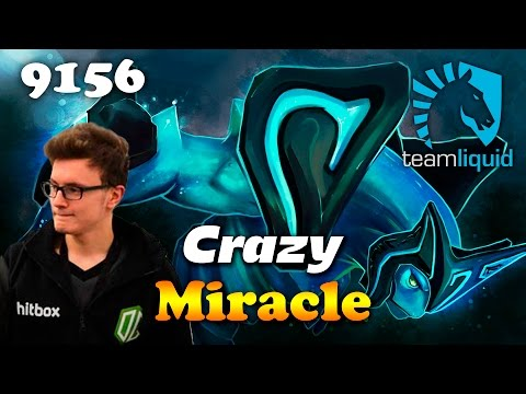 Miracle Crazy Morphling   9156 MMR Dota 2